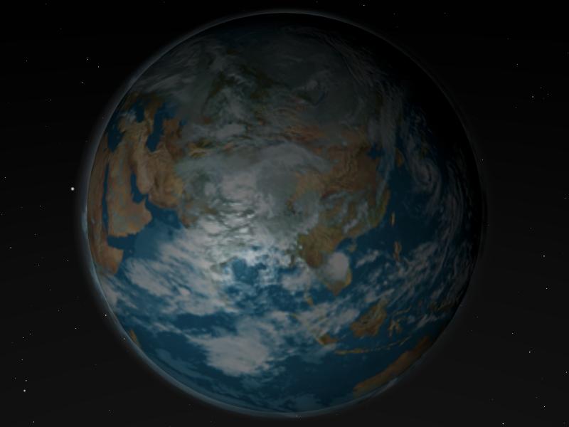 Die Erde made with Blender