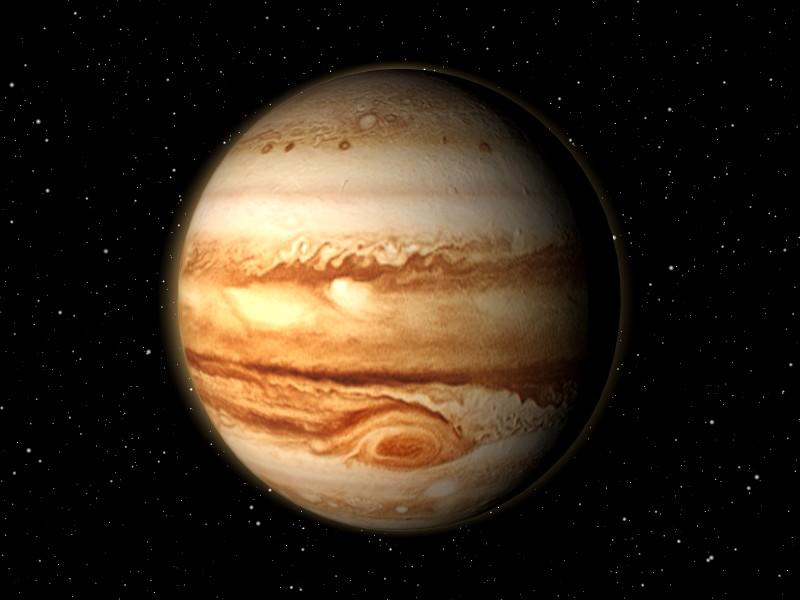 Der Planet Jupiter made with Blender
