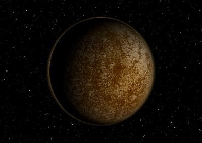 Der Planet Merkur made with Blender