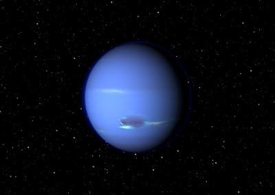 Der Planet Neptun made with Blender