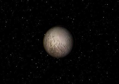 Der Pluto Yavin made with Blender