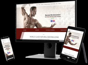 Webseite Berend Breitenstein