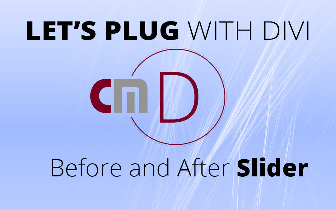 Divi Plugin – Before and After Slider
