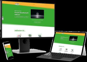 Webseite Forum Gesellschaft inklusiv