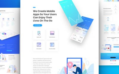 Kostenloses App Developer Layout Pack