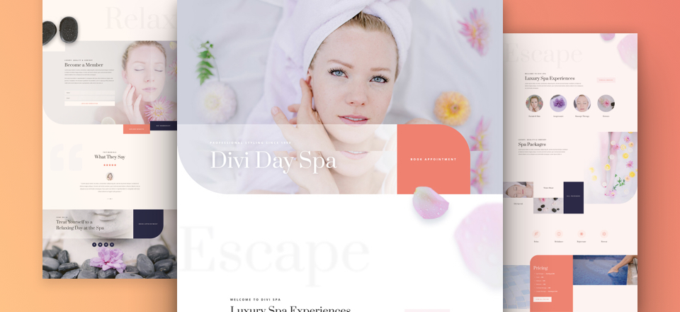 Kostenloses Day Spa Layout Pack
