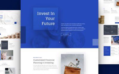 Kostenloses Layout Pack für Investmentgesellschaften