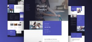 Kostenloses Layout Pack fuer Physiotherapeuten