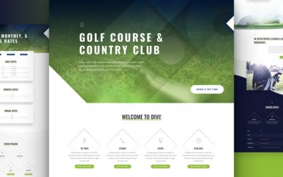 Kostenloses Golf Course Layout Pack