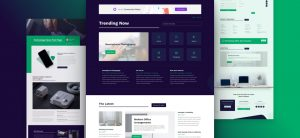Kostenloses Technology News Layout Pack