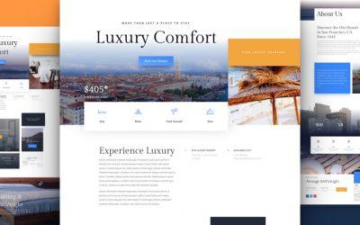 Kostenloses Resort Layout Pack