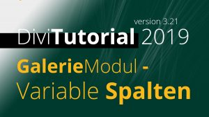 DiviTutorial GalerieModul - Variable Spalten