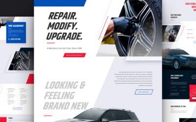 Kostenloses Layout Pack für Mechaniker