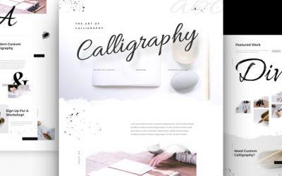 Kostenloses Layout Pack für Kalligraphen