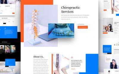 Kostenloses Layout Pack für Chiropraktiker