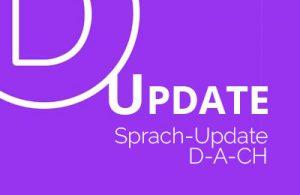 Divi update Sprach Update
