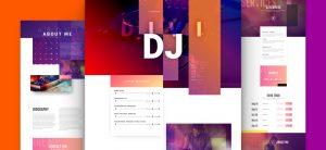 Kostenloses DJ Layout Pack