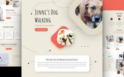 Kostenloses Layout Pack für Dogwalker