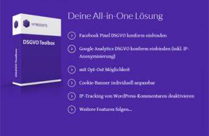 DS-GVO Toolbox für WordPress
