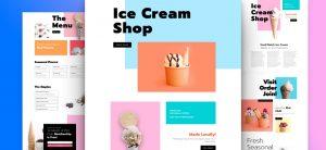 Kostenloses Layout-Pack für Eisladen