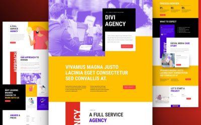 Kostenloses Layout Pack für Werbeagentur